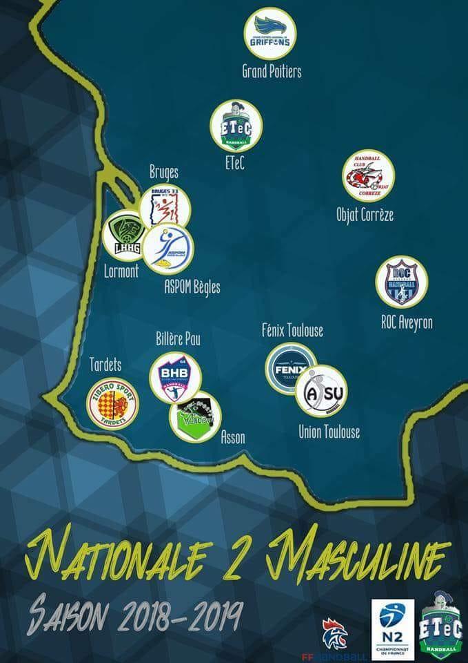 Poule Nationale 2 2018-2019