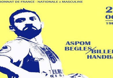 Samedi 20 Octobre à 19h30 : N2 Garçons Aspom – Billère