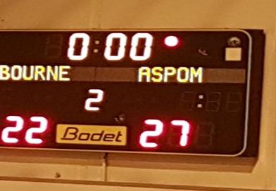 N2M : Nos garçons remportent le derby face à Libourne